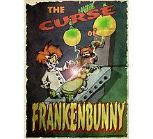 Frankenbunny Photographic Print