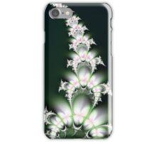 White Flower Sprig iPhone Case/Skin