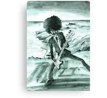 Phil Lynott in Howth in Ireland Canvas Print