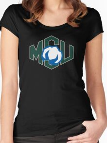 MSU Cotton Women's Fitted Scoop T-Shirt