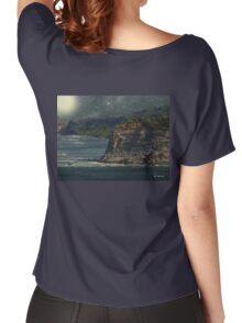 Moonlit Cove Women's Relaxed Fit T-Shirt
