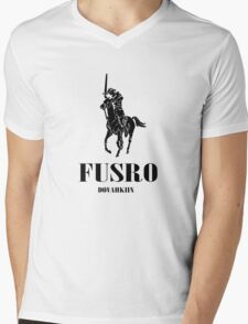 Fusro- Dovahkiin Mens V-Neck T-Shirt