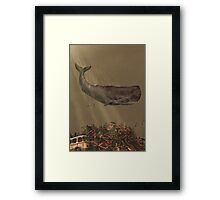 The Last Whale  Framed Print