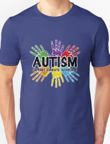 Autism: support, educate, advocate. T-Shirt