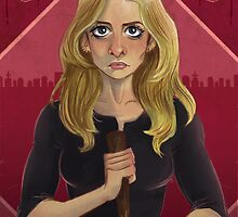 Buffy by amandarts