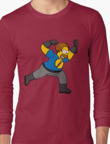 Captain Auto Hammer Long Sleeve T-Shirt