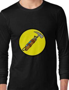 Captain Auto Hammer's Logo Long Sleeve T-Shirt