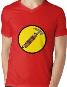 Captain Auto Hammer's Logo Mens V-Neck T-Shirt