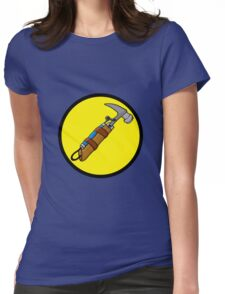 Captain Auto Hammer's Logo Womens Fitted T-Shirt