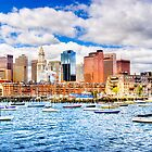 Boston Harbor - The Marina by Mark Tisdale