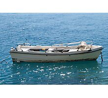 Small Fishing Boat Photographic Print