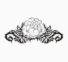 Tattoo with flower Kids Tee