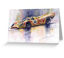 Porsche 917 K Martini Kyalami 1970 Greeting Card