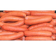 Sausages Photographic Print