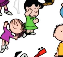 A Charlie Brown Christmas Dance Sticker