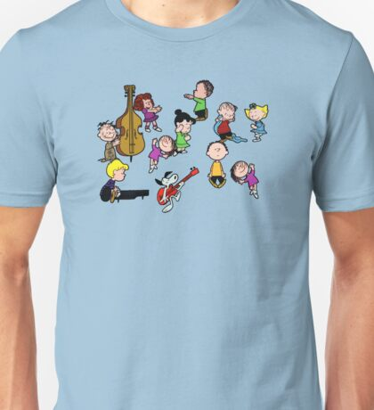 A Charlie Brown Christmas Dance Unisex T-Shirt