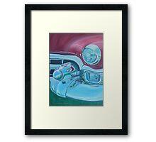 Cadzilla 1953 Cadillac Series 62 Convertible Framed Print