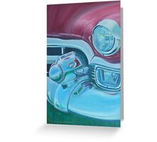 Cadzilla 1953 Cadillac Series 62 Convertible Greeting Card