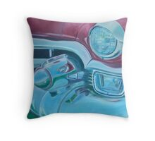 Cadzilla 1953 Cadillac Series 62 Convertible Throw Pillow