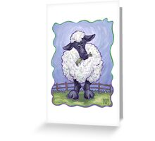 Animal Parade Sheep Greeting Card