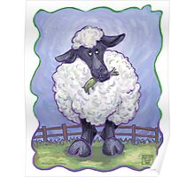 Animal Parade Sheep Poster