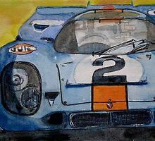 Gulf Porsche 917 No 2 by BAR-ART