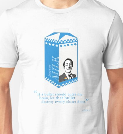 Harvey Milk - Bullets Unisex T-Shirt