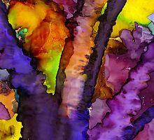 The Purple Tree by © Angela L Walker