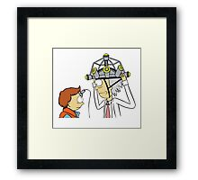 Back To The Future Morty Framed Print