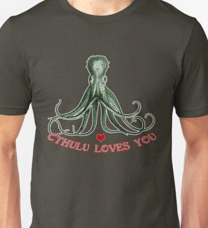 CTHULU LOVES YOU! Unisex T-Shirt