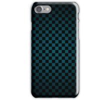 dark checkered design iPhone Case/Skin