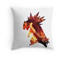 Typholsion used inferno Throw Pillow