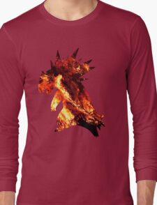 Typholsion used inferno Long Sleeve T-Shirt