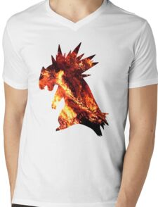 Typholsion used inferno Mens V-Neck T-Shirt