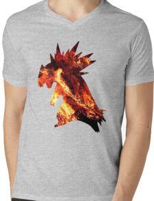 Typholsion used inferno Mens V-Neck T-Shirt