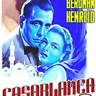 Italian poster of Casablanca by Art Cinema Gallery