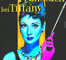 German poster of Breakfast at Tiffany´s by Art Cinema Gallery