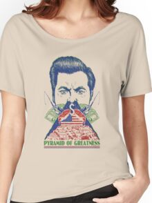 Pyramid of Greatness Women's Relaxed Fit T-Shirt
