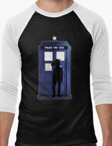Doctor Horse Men's Baseball ¾ T-Shirt