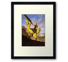 Cloud Crossing the Northern Crater Framed Print