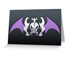 Thriller Bark Jolly Roger Greeting Card