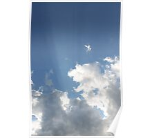 Clouds & Rays Poster