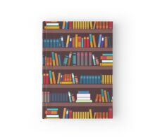 Book pattern Hardcover Journal