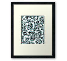 Tornado Swirls Framed Print