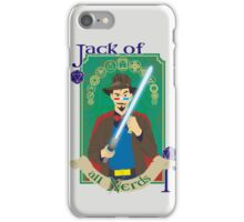 Jack of all Nerds iPhone Case/Skin