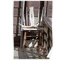 Three Legged Chair Poster
