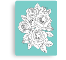 Rose Buds Canvas Print