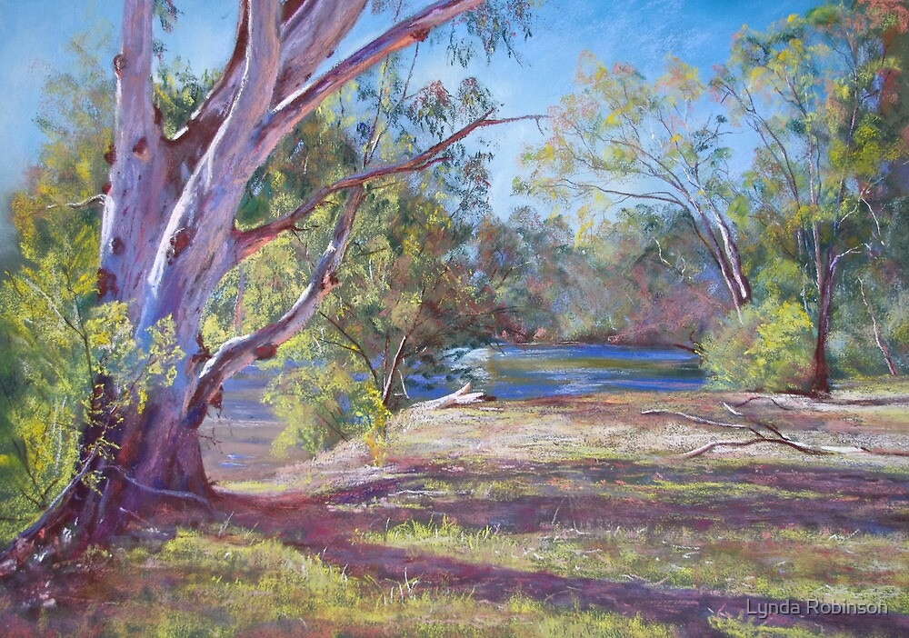Afternoon Shadows by Lynda Robinson