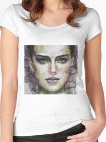 Black Swan - Natalie Portman Women's Fitted Scoop T-Shirt
