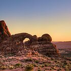 Arches National Park- Turret Arch by Bill Wetmore